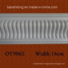 White Color Basic PU Cornice PU Moulding