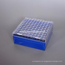 PC Cryo Freezer Box 100 bem para tubo crio de 2ml