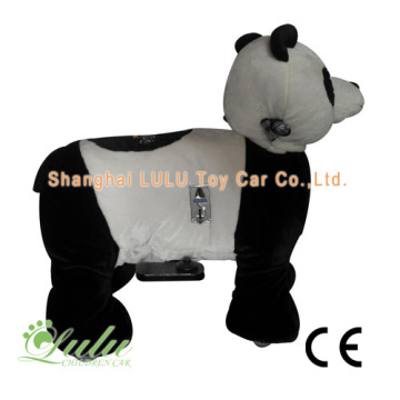 10 Years manufacturer for Battery Walking Animal, Walking Animal Rides Wholesalers Supply Battery Riding Animal, Animal Kids Rides, Kids Animal Rider, Ride On Animals, etc. Panda Animal Rider Coin Operated Machine supply to Vatican City State (Holy See) F