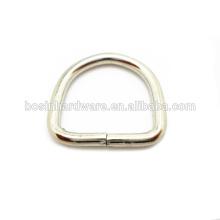 Moda de alta qualidade de aço inoxidável Dee anel de aço
