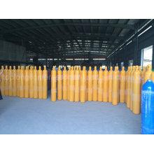 150bar 200bar Acier sans soudure Oxygène Nitrogène Hydrogène Argon Hélium Cylindre à gaz Cylindrique GNC
