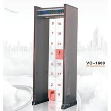 Détecteur de métrage de zone à traverser 16 zones (VO-1600)