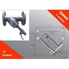 Oil Filtration Y Type Filter Y Welding Flange Strainer For