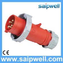 Saip nouvelle prise et fiche industrielles étanches IP67 400V 32A 6h imperméables de haute qualité