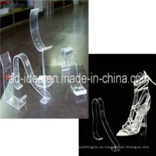 Venta al por mayor Stand / exposición de acrílico para zapatos / soporte publicitario