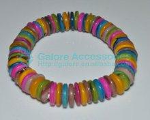 multiple colors natural cheap abalone paua shell bracelet bangles