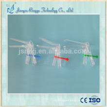 Disposable medical plastic cusco French type vaginal speculum