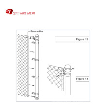9 gauge 50x50mm openning 6 foot chain link fence