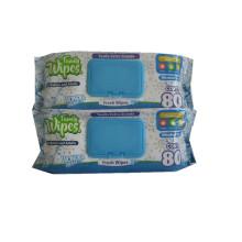 Venta caliente desinfectante de limpieza de tejidos húmedos para bebés