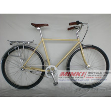 700 C Mens Retro Vintage City Bicycle 3 Speed Fixie Bike