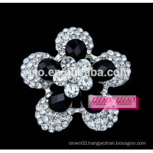 promotional small lovely crystal brooch pin