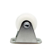 1 inch light duty flat plate rigid PP casters