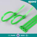 Commande en gros de cravate en plastique de câble de la Chine en gros