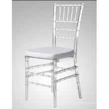 Casamento de policarbonato de resina branca Silla Tiffany & cadeira de Chiavari