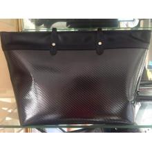Carbon fiber women handbag