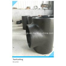 ANSI 16.9 de acero sin soldadura Buttweld T de acero