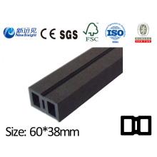 Joies WPC à haute résistance pour revêtement de sol Revêtement de panneaux de mur avec SGS CE Fsc ISO WPC Keel Bois Joint en composite composite en plastique Lhma082