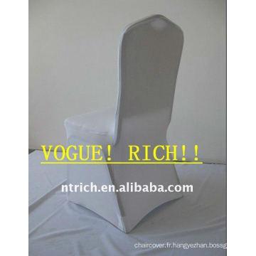 Couverture de chaise de lycra, couvertures de chaise d'hôtel / banquet