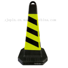 Custom Portable Rubber Road Reflective Warning Traffic Cone