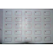 3X8 A4 Size Em4200 RFID Inlay