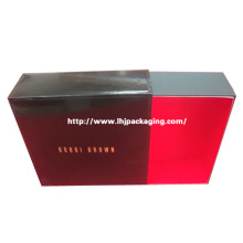 Luxury Cosmetic Packaging Paper Drawer Box with Foil Stamping