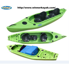 3 Seats Sit in Plastic Cockpit Kayak