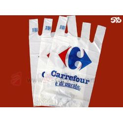 Food grade HDPE plastic bags&food packaging plastic