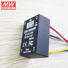 Convertidor reductor Mean Well DC-DC Convertidor LDD-1000HW 1000mA LED