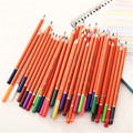 ensemble de crayons de couleur 48 en bois multi couleur pratique