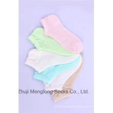 Meias de verão cores brilhantes com malha meias de algodão menina