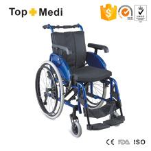 Manueller leichter High-End-Rollstuhl mit Aluminiumrahmen