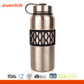 Custom Color Stainless Steel Beautiful Sleeve Vaccum Double Wall Water Bottle