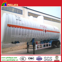 Liquified Natural Gas Carbon Dioxide LNG Tank Semi Trailer