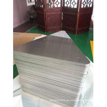 Hoja de aluminio cromado 5052 H38 para espacios en blanco de signos
