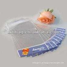 gravura de impressão de plástico saco de gancho de pesca com zíper & euro slot / top gancho de pesca saco