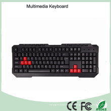 Durable Top Quality Keyboard Multimedia del juego (Kb-1688-B