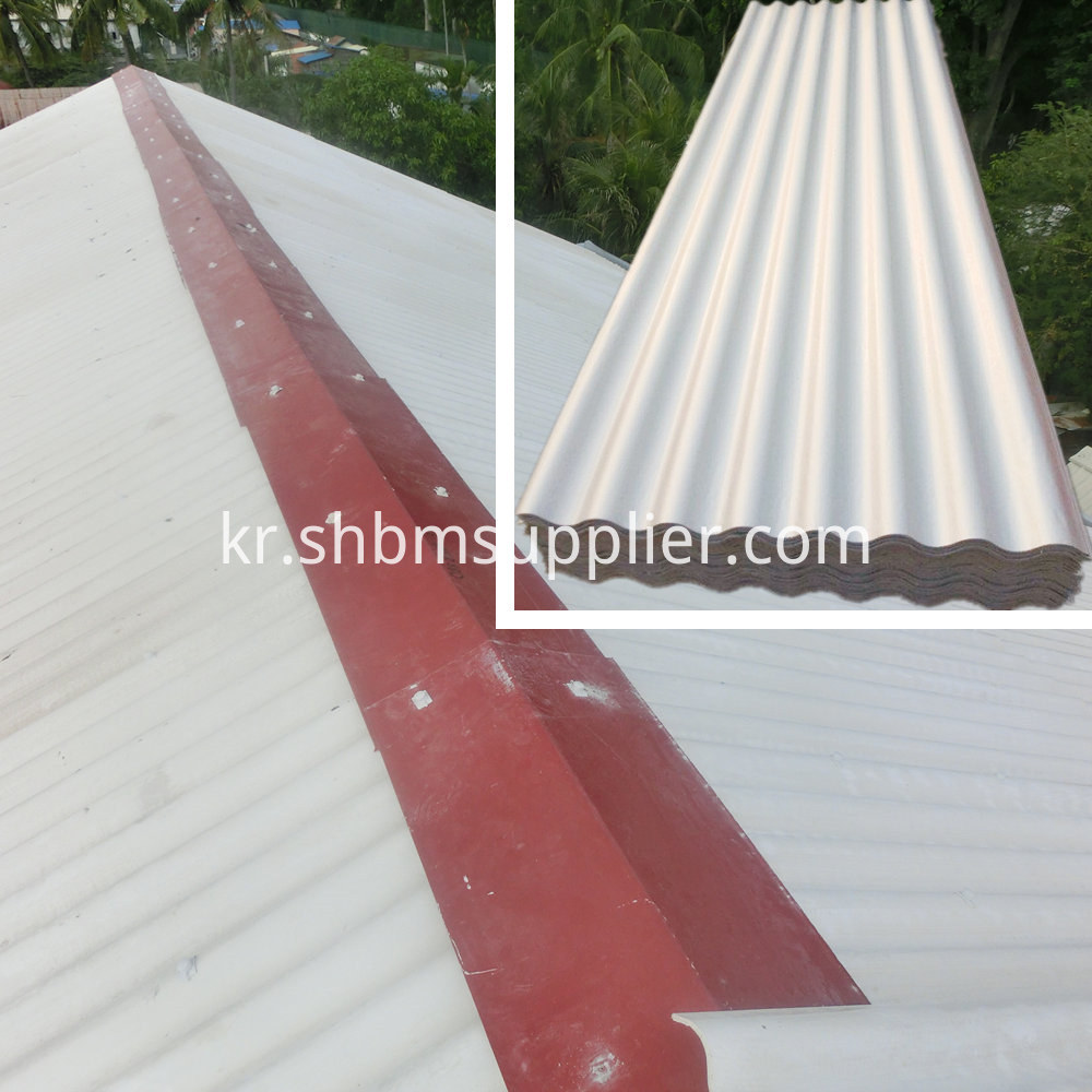 Waterproof Building Material MgO Roofing Tile Prices