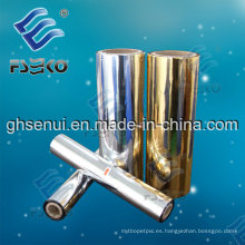 MPET Metalized Laminating Film (24mic) Gold Color