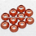 M3 M5 M8 Colorful countersink washer aluminum anodized