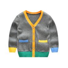 Новое поступление вязаной одежды для детей, детский кардиган