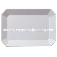 Utensílios de mesa de Melaimine de 100% - utensílios de mesa de primeira qualidade da melamina da bandeja (WT913)