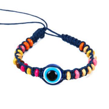 Bracelet de fil d'oeil maléfique (XBL13502)