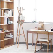 Cilên Portable Wooden Shelf Wooden Coat Rack