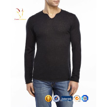 New Fashion men pure wool pullover with wolf printed sweater