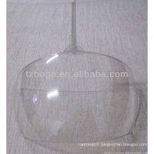 casque bouclier en plastique moulage par injection