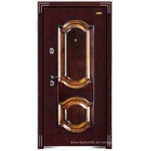 Puerta de cobre con estilo de acero de seguridad