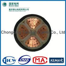 De buena calidad Material de PVC / XLPE con el cable de extensión de la energía de la CC del enchufe de la CC para led