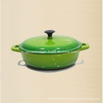 China Factory Supply Enamel Cast Iron Cookware Manufacturer