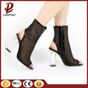 Breathable mesh summer cool boots