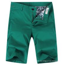 Pantalones cortos ocasionales del cargo de algodón de la moda de 2017 hombres del verano